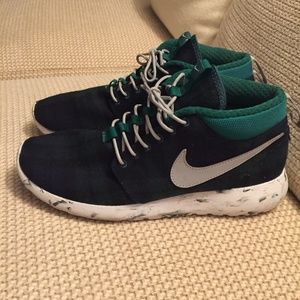 NikeID Custom Pendleton Wool Sneakers Blue Plaid